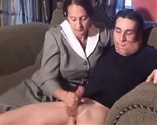 Mature woman and young man 16