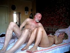 French mature doctor sucks his patient and fucked by husband