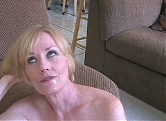 Mature swinger wife anal cream pie